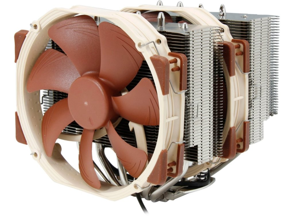 Brown Noctua NH-D15 SE-AM4 Premium Dual-Tower CPU Cooler for AMD AM4